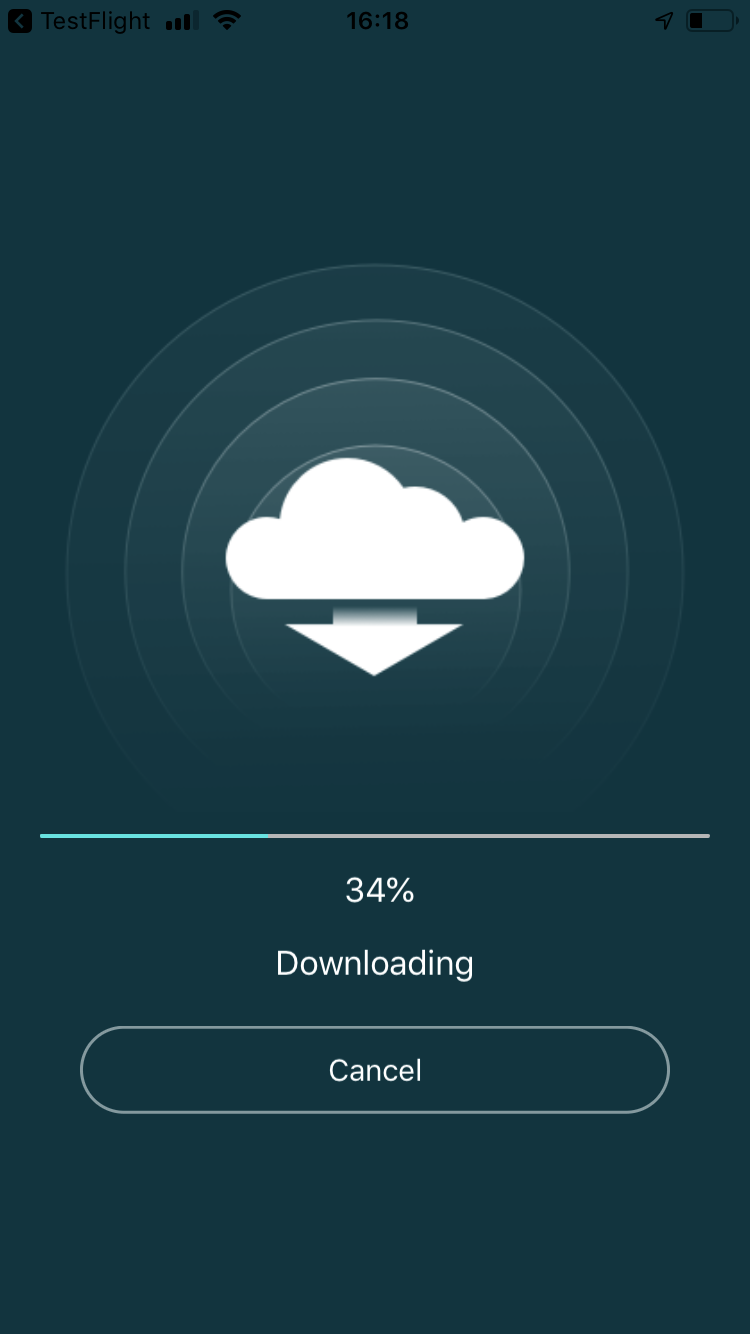 Download at 34 %